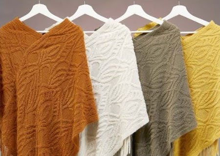 Ponchos to Love from Versona Accessories