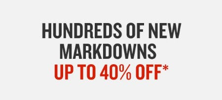 Hundreds of New Markdowns up to 40% Off from Finish Line