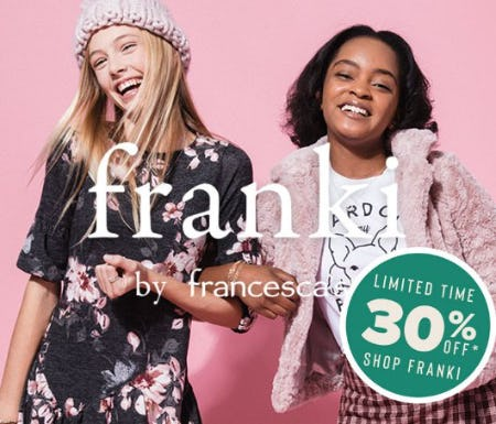30% Off Franki by Francesca's from Francesca's