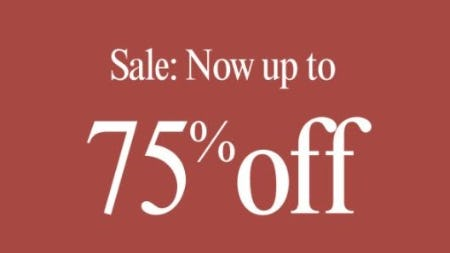 Up to 75% Off Sale from Lucky Brand Jeans
