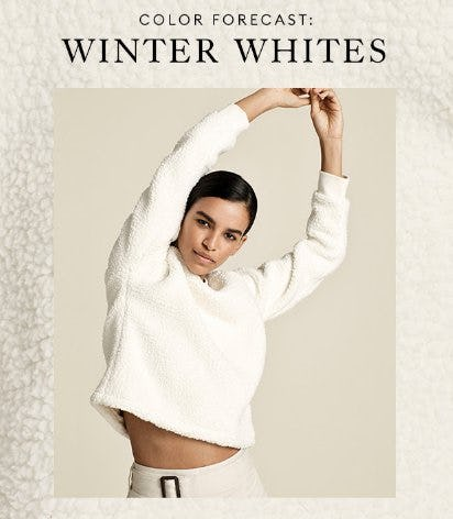 Color Forecast: Winter Whites from Banana Republic