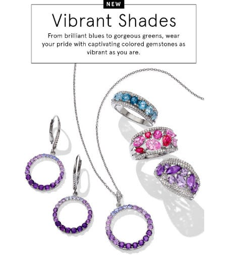 New Vibrant Shades from Kay Jewelers