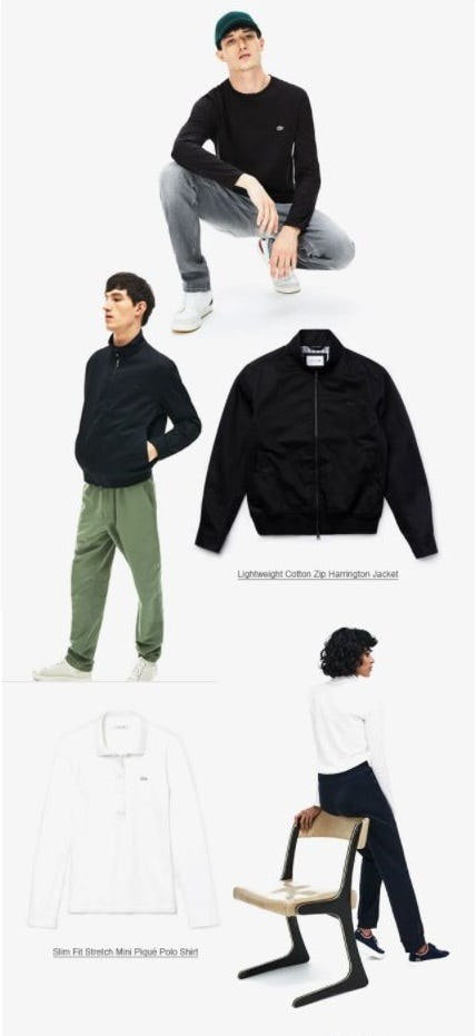 Transition Dressing from Lacoste
