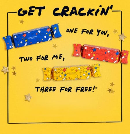One for You, Two for Me, Three for Free from L'Occitane