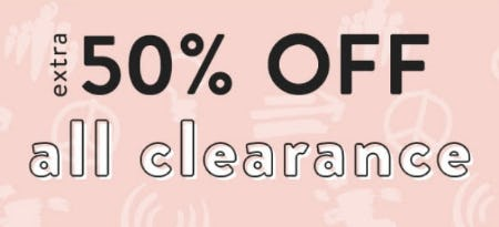 Extra 50% Off All Clearance from Justice