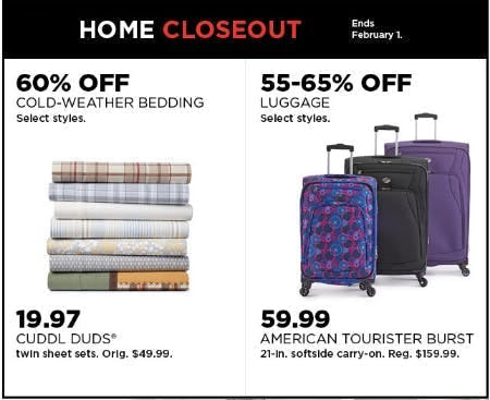 Up to 65% Off Home Closeout