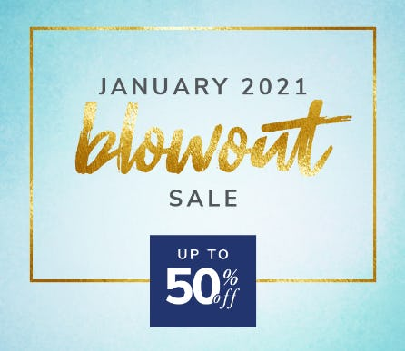January 2021 Blowout Sale