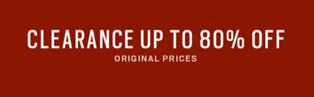 Clearance Up to 80% Off Original Prices from Men's Wearhouse