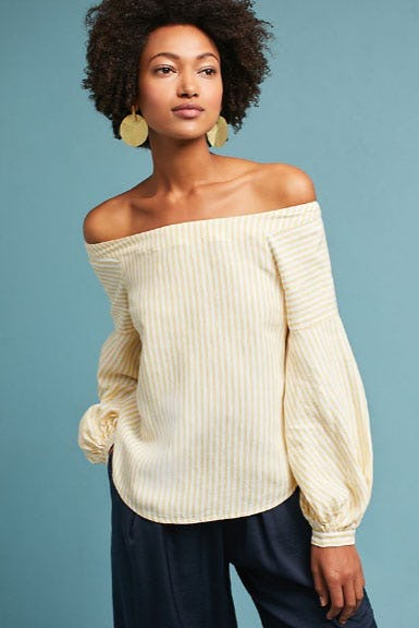 Clotille Off-The-Shoulder Blouse from Anthropologie
