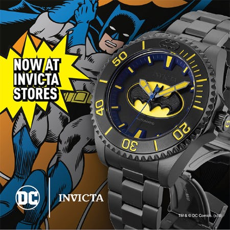 DC Comics Invicta Collection Launch from Invicta