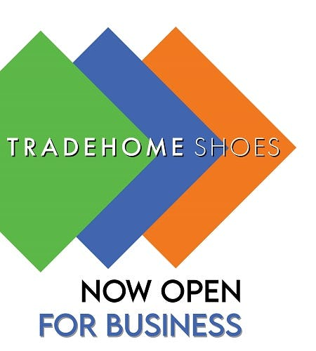 Grand Re-Opening from Tradehome Shoes