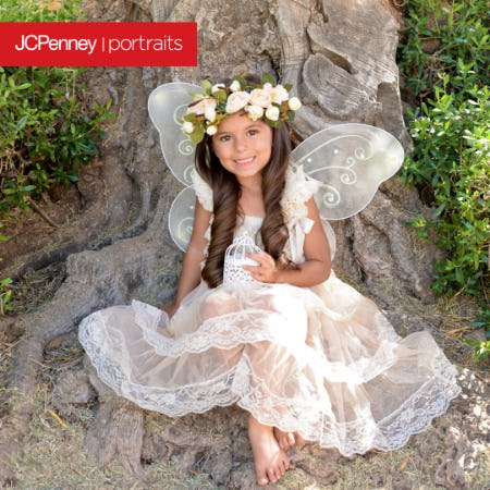 Outdoor Fairy Photography Event from JCPenney Portraits