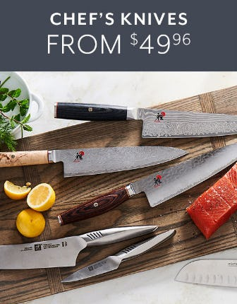 Chef' s Knives From $49.96