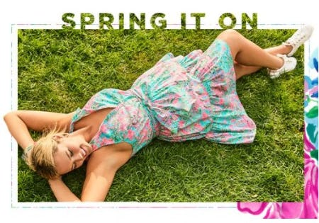 Back by Popular Demand: The Trisha Shirt Dress from Lilly Pulitzer