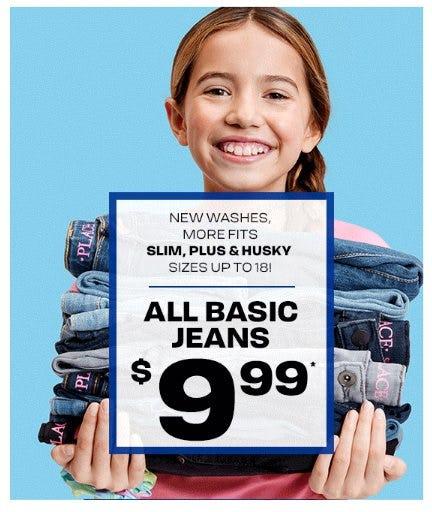 All Basic Jeans $9.99