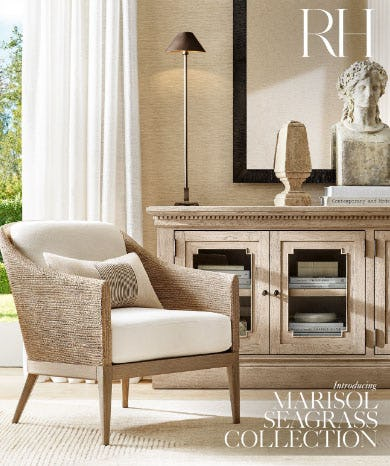 Introducing the Marisol Seagrass Collection from Restoration Hardware