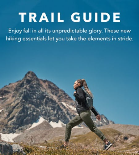 Must-Haves for Fall Hikes from Athleta