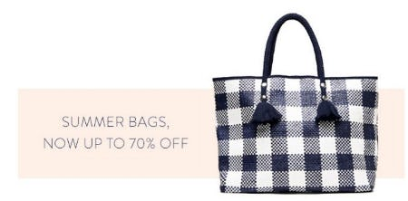 Summer Bags, now up to 70% Off from J. Mclaughlin
