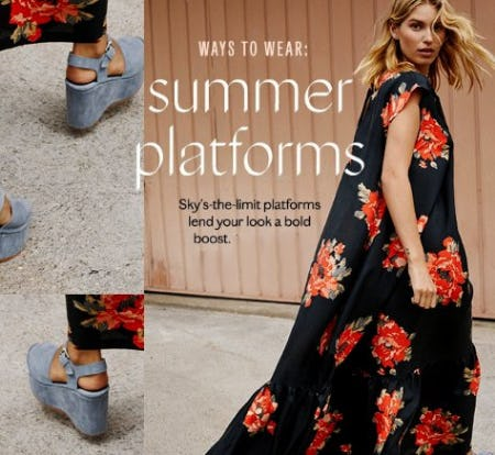 This Season is All About Platforms from Free People
