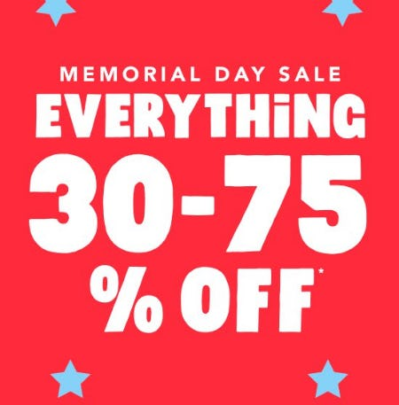Memorial Day Sale from The Children's Place