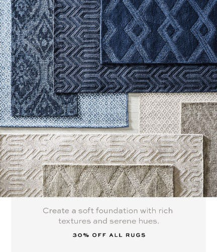 30% Off All Rugs from Pottery Barn
