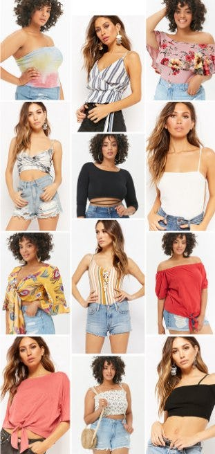 Shop New Arrivals from Forever 21