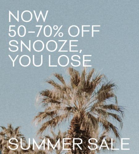 50-70% Summer Sale from Aritzia