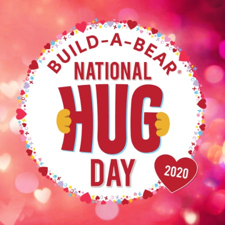 CeleBEARate National Hug Day at Build-A-Bear Workshop®! from Build-A-Bear Workshop