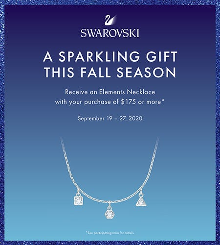 Swarovski Fall Gift from Swarovski