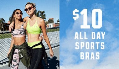 $10 All Day Sports Bras