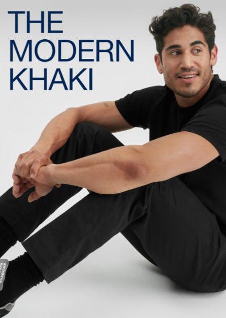 Meet the Modern Khaki from Gap