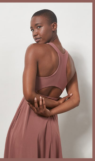 New Color Winona Midi Support Dress from Athleta