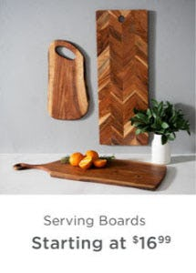 Serving Boards Starting at $16.99 from Kirkland's