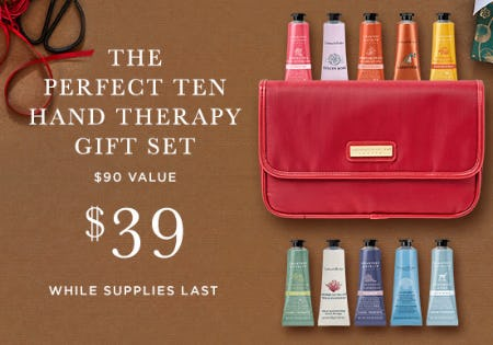 The Perfect Ten Hand Therapy Gift Set for Only $39
