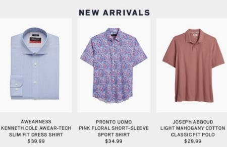 Shop New Arrivals from Men's Wearhouse