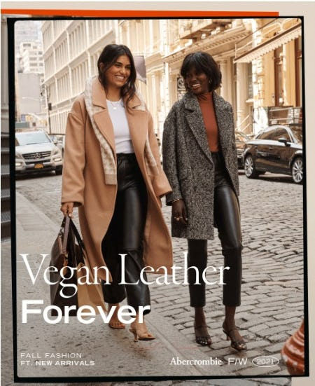 Everything's Better In Vegan Leather from Abercrombie & Fitch