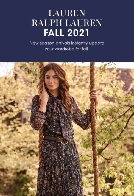 Ralph Lauren: The Latest Looks For Fall from Bloomingdale's