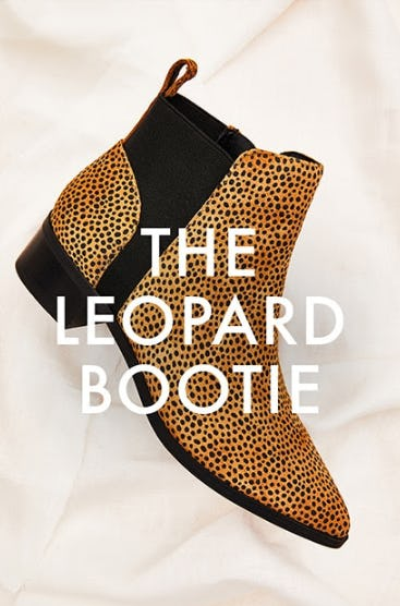 The Leopard Bootie from DSW Shoes