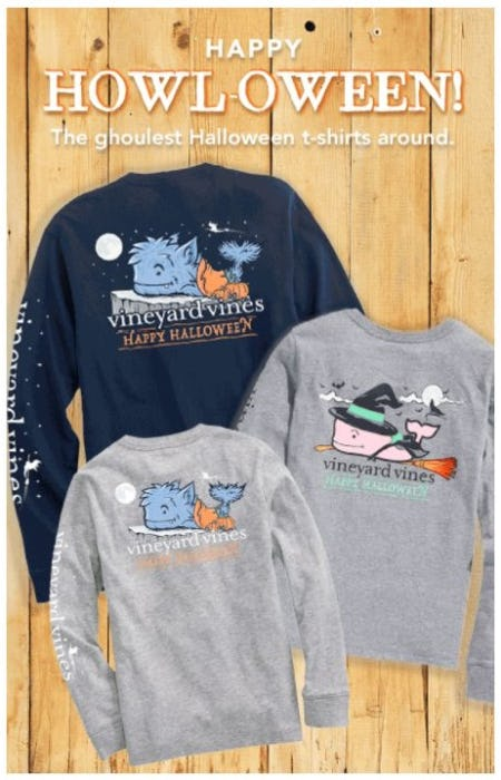 Halloween Tees from Vineyard Vines