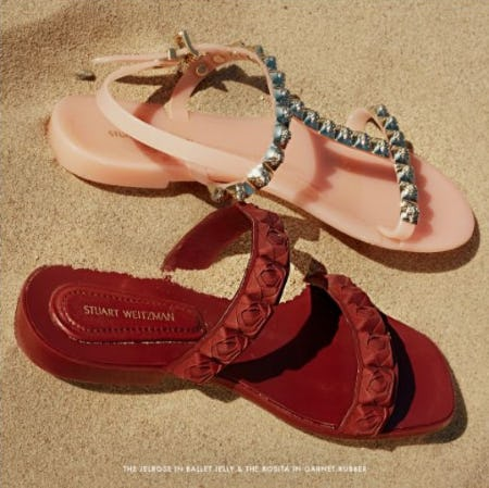 Time to Rethink Jelly Sandals from STUART WEITZMAN