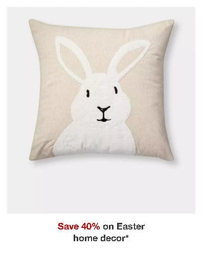Save 40% on Easter Home Decor
