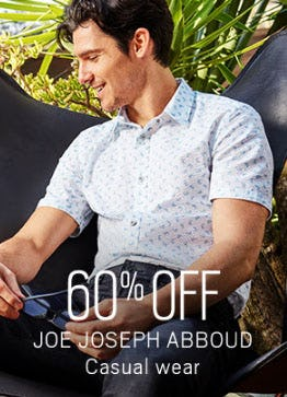60% Off Joe Joseph Abboud Casual Wear from Men's Wearhouse