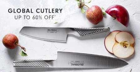 Up to 60% Off Global Cutlery from Williams-Sonoma