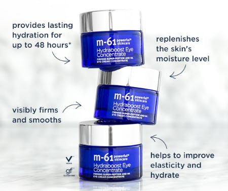 M-61 Hydraboost Eye Concentrate from Bluemercury