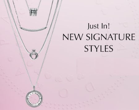 Sparkling New Arrivals
