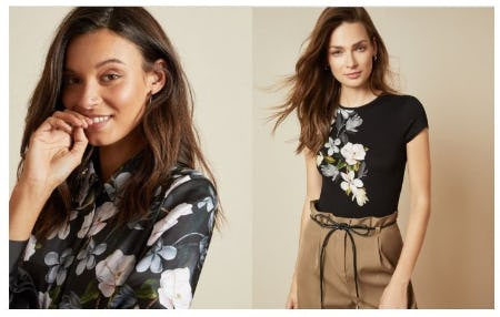 Something Floral, Something New from Ted Baker London