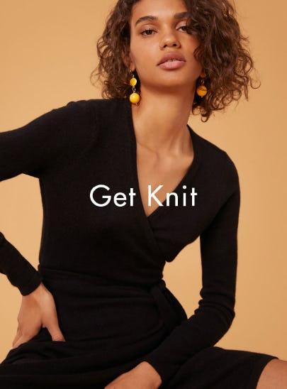 Knit Wrap Dress from Diane von Furstenberg