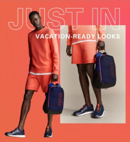 Just In: Vacation-Ready Styles from Boss