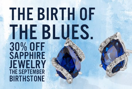 September Birthstone Jewelry Sale: 30% OFF