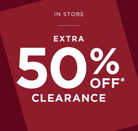Extra 50% Off Clearance from Tillys